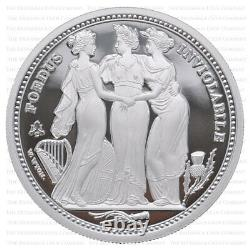 2021 St Helena The Three Graces 2oz Silver Proof Two Pound Boxed with Cert