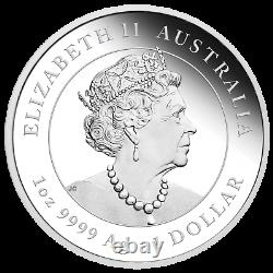 2022 Australia PROOF Lunar Year of the Tiger 1oz Silver $1 Coin Series3