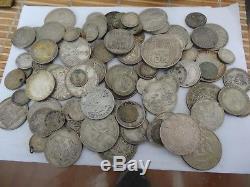 545g WORLD SILVER COINS