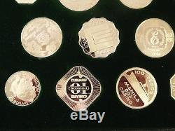 999 Silver Gaming Coins Set Of 25 From Worlds Casinos 17.74 Ounces Circa 1978