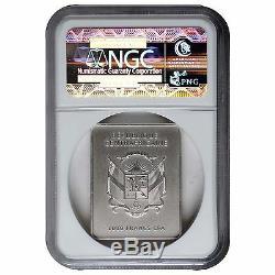 AL CAPONE History of Public Enemies 1 oz silver coin antiqued NGC MS70 CAR 2015
