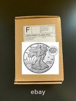 American Eagle End of World War II 75th Anniversary Silver Proof Coin 20XF (W)