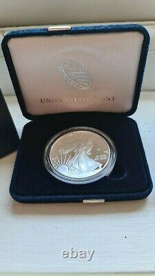 American Eagle End of World War II 75th Anniversary Silver Proof Coin IN HAND