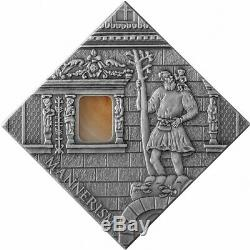 Art That Changed The World Series Mannerism Niue 2014 Silver Coin