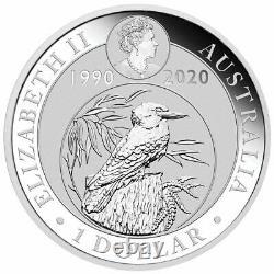 Australia 1990-2020 Kookaburra 31-Coin Complete Collection $1 Silver Dollar Set
