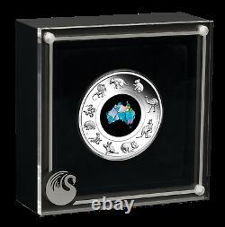 Australian Opal Series 2020 1oz Silver Proof $1 Coin Great Southern Land