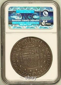 Austria 1711 Silver Coin Taler Joseph I Hall Mint DAV-1018 NGC XF45