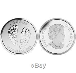 Baby Born In 2015 Welcome To The World 2015 $10 Fine Silver Coin