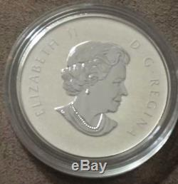 Born in 2012 Welcome to the World Canada $10 Silver Coin Baby Feet