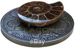 Burkina Faso 2016 1000 Francs World of Evolution Ammonite 1oz Silver Coin