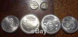 Collection Coins from Around the World Extinct Currency, RARE Coins Silver & mor