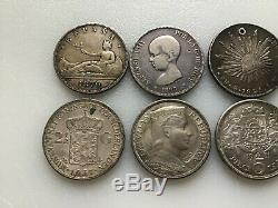 ESTATE SALE World Silver Coin Lots! 10 ITEMS! MUST SEE