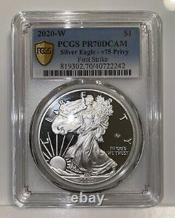 End of World War II 75th Aniv. American Eagle Silver Proof Coin 2020
