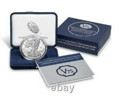 End of World War II 75th Anniversary American Eagle GOLD & SILVER Coin IN HAND