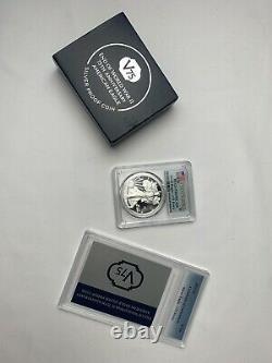 End of World War II 75th Anniversary American Eagle Silver Proof Coin PR69 Grade