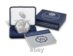 End of World War II 75th Anniversary American Eagle Silver Proof Coin Unopened