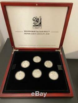 FIFA World Cup South Africa silver coin edition 2010