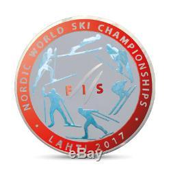 FIS Nordic World Ski Championships Lahti SILVER coins 99 pcs