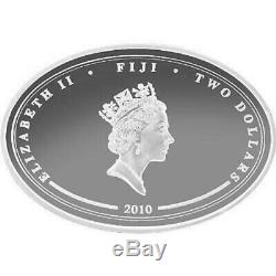 Fiji 2010 Submarines of the World Typhoon Ohio 4 x 1 Oz Silver Proof Coin Set