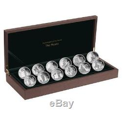 Fiji 2011 $2 Mythologies of the World The Muses 12x 25g Silver Coin Set