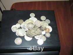 Foreign Silver Coin Lot 11 Oz. World Coins