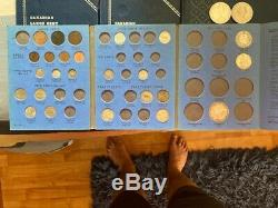 HUGE World Coin Lot Silver Albums Whitman Mexico Centavo Set Canada Type Britain
