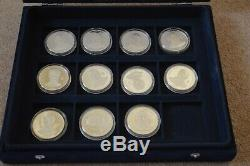 Heroes Of 1966 Football World Cup 11-Coin Silver Proof Set 2006 Congo Republic