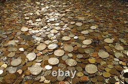 Huge 5 Lb Old Coin Collection Estate Sale Lots Set With Silver Coins