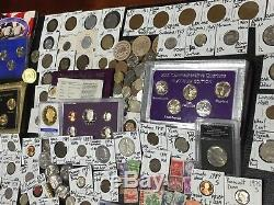 Huge Lot 400+Coin$/StampSilver Note/Mercury/Buffalo/Indian/1892/V/Error/World