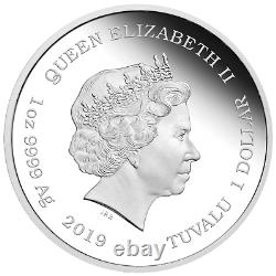 IN STOCK 2019 The Simpsons Maggie Simpson 1oz $1 Silver 99.99% Dollar Proof Coin
