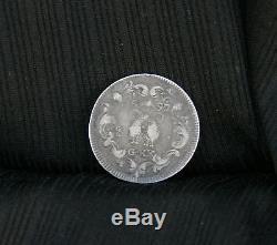 Italian States 20 Grana Tari Naples 1697 Silver World Coin Italy Carlos II