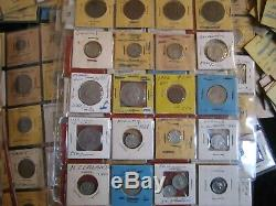 Large Foreign (World) Coin Lot over 900 coins, most identified, includes Silver