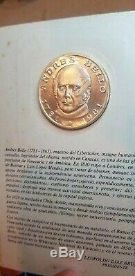 Lot 11 Venezuela 1981 100 Bolivares Silver Proof Commemorative World Coin