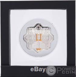 MASONE Labyrinths Of The World 2 Oz Silver Coin 5000 Dram Armenia 2017