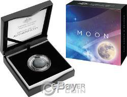 MOON World Beyond 1 Oz Silver Coin 5$ Australia 2019