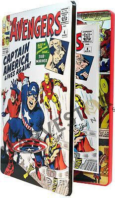 Marvel Comics Avengers #4 Silver Foil 1 Oz. Capt. America 2nd In Series