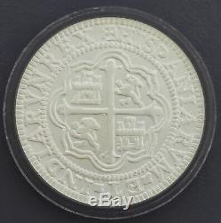 Mexico City Mint 8 Reales Restrike From Atocha Treasure Ship Silver Coin Medal