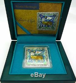 Niue 2014 $2 Icon World Heritage Lamb Of God 1 Oz Silver Coin Only 999