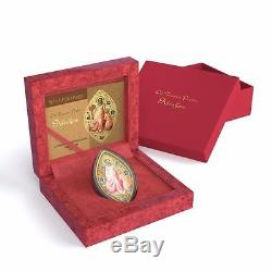 Niue 2015 $2 Icon World Heritage Abraham 1 Oz Silver Coin Gold Gilded ONLY 999