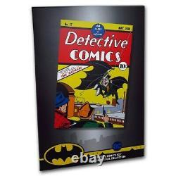 Niue- 2018 Silver Foil 35 grams Pure Silver- DC Comics Detective Comics #27