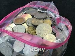 OVER 14 pounds world coin Mix bulk BU Monaco UNC AU Super Premium Lot & Silver