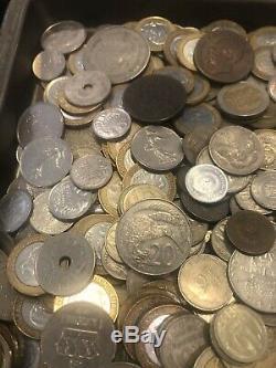 OVER 15 pounds world coin Mix bulk BU Monaco UNC AU XF VF Lot & Silver