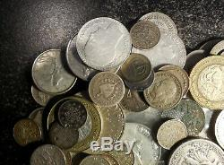 Over 1 Troy Pound 15.7 oz. Of U. S. & World Silver Coins with 1786 and BU Coins