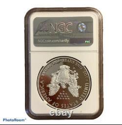 PF70 Grade End of World War II 75th Anniversary American Eagle Silver Proof Coin