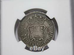 Peru 1770 LM Jm 2 Reales Pillar & Globes Ngc Vf20 Silver World Coincheap