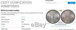 Philippines 1907 S Peso U. S. Mint Minted Pcgs Ms63 Silver World Coin Type