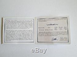 RARE 2000 5OZ ALDERNEY£10 SILVER PROOF COIN BOX & COA only 1000 worldwide No-440