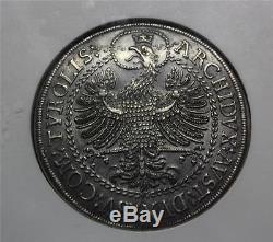 Rare World Coins 1686-96 Austria 2 Thaler NGC AU58 Silver Large Size (RC80)