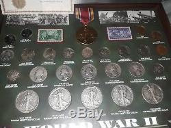 Rare World War 2 Coin Collection 25pcs
