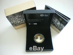 Royal Mint Uk 2014 Outbreak First World War £2 Silver Proof Piedfort Coin